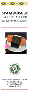 Spam Musubi Safety