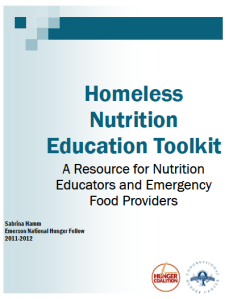 Nutrition Education Toolkit